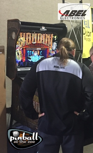 Looking to play Houdini this weekend? Pinball at the Zoo has Houdini