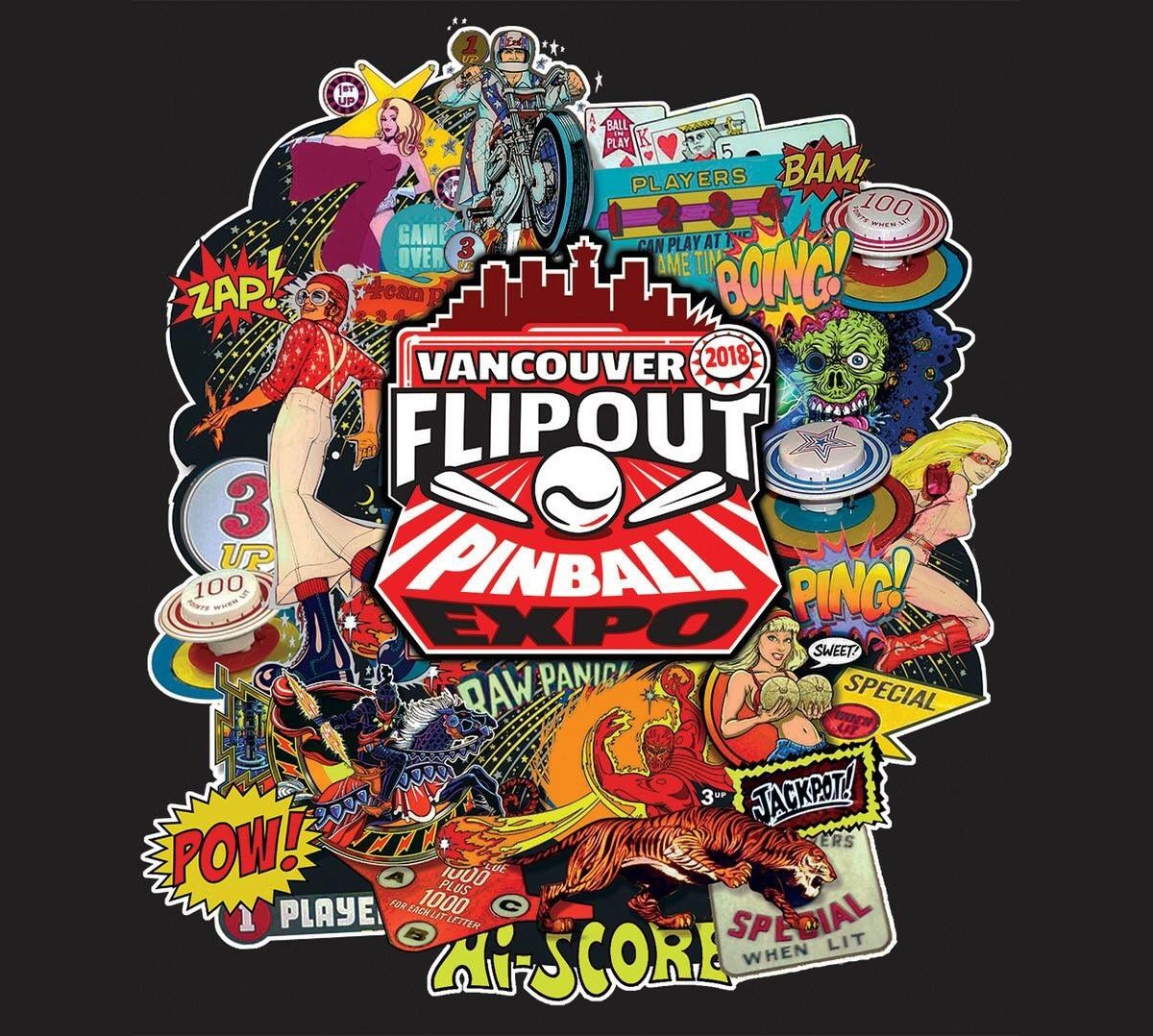 See Houdini in Action at Vancouver FlipOut: Sep 7-9